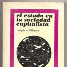 Libros de segunda mano: RALPH MILIBAND . EL ESTADO EN LA SOCIEDAD CAPITALISTA. Lote 269495423