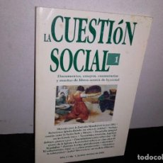 Libros de segunda mano: 27- LA CUESTIÓN SOCIAL 1, AÑO 11, NO. 1, 2003 - DOCUMENTOS, ENSAYOS, COMENTARIOS Y RESEÑAS DE LIBROS. Lote 269504228