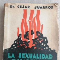 Libros de segunda mano: LA SEXUALIDAD ENCADENADA. EJEMPLOS Y CONSEJOS** DR. CÉSAR JUARROS MUNDO LATINO 284PP. Lote 270529063