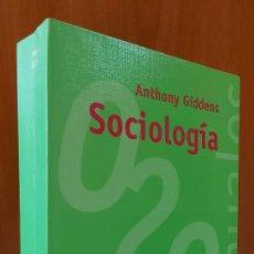 Libros de segunda mano: SOCIOLOGÍA / ANTHONY GIDDENS. Lote 270562528