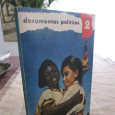 Libros de segunda mano: ESPAÑA EN EL AFRICA ECUATORIAL. DOCUMENTOS POLÍTICOS 2. COLONIAS. SIE MADRID 1964. Lote 278417098