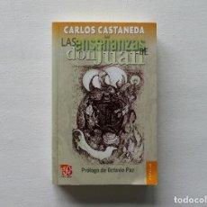 Libros de segunda mano: CARLOS CASTANEDA LAS ENSEÑANZAS DE DON JUAN. Lote 280551668