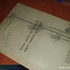 Libros de segunda mano: COMO SOMOS LOS ESPAÑOLES SEGUN NUESTROS PROHOMBRES, MARTIN ARTAJO, SEPARATA. Lote 286856443