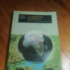 Libros de segunda mano: LA DIVERSITAT LINGÜÍSTICA. CARME JUNYENT. OCTAEDRO. PROJECTE GELA.. Lote 287806853