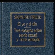 Libros de segunda mano: EL YO Y EL ELLO MÁS OTROS ENSAYOS, POR SIGMUND FREUD. EDIT. AÑO 1983. Lote 287832678