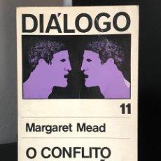 Libros de segunda mano: O CONFLITO DE GERAÇÕES DE MARGARET MEAD. Lote 288014518