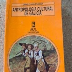 Libros de segunda mano: ANTROPOLOGÍA CULTURAL DE GALICIA, ((BOLS, 12). Lote 288669998