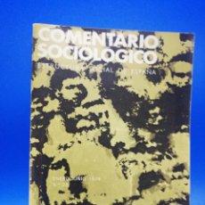 Libros de segunda mano: COMENTARIOS SOCIOLOGICO. ESTRUCTURA SOCIAL DE ESPAÑA. 1979. PAGS. 605.. Lote 288915263