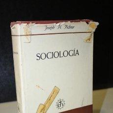 Libros de segunda mano: SOCIOLOGÍA.- FICHTER, JOSEPH, H.. Lote 289332613