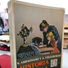 Libros de segunda mano: N. ABBAGNANO - HISTORIA DE LA PEDAGOGÍA. Lote 296625953