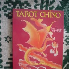 Libros de segunda mano: JEAN-LOUIS VICTOR: TAROT CHINO. Lote 21929396