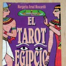 Libros de segunda mano: EL TAROT EGIPCIO. MARGARITA ARNAL MOSCARDÓ. EDICIONES OBELISCO. Lote 28463937
