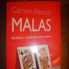 Libros de segunda mano: MALAS - CARMEN ALBORCH - AÑO 2002 - ED. SANTILLANA - AGUILAR 7ª EDICION. Lote 32540254