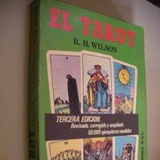 Libros de segunda mano: EL TAROT - WILSON (EM1). Lote 33416878