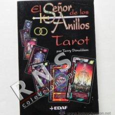 Libros de segunda mano: EL SEÑOR DE LOS ANILLOS TAROT TERRY DONALDSON UNIVERSO JRR TOLKIEN ADIVINACIÓN ESOTERISMO LIBRO. Lote 36929214