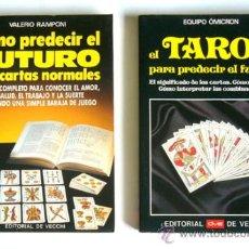 Libros de segunda mano: COMO PREDECIR EL FUTURO CON CARTAS NORMALES Y EL TAROT PARA PREDECIR EL FUTURO. Lote 38214598