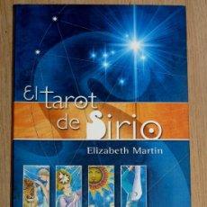 Libros de segunda mano: LIBRO EL TAROT DEL SIRIO, DE ELISABETH MARTIN. Lote 38353860