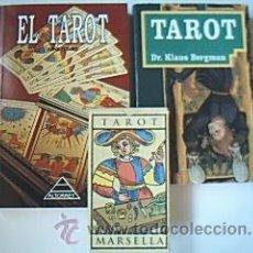 Libros de segunda mano: LOTE 2 TÍTULOS: TAROT Y EL PODER DEL TAROT. 2 LIBROS + ESTUCHE CON LOS 22 ARCANOS MAYORES.. Lote 40171138