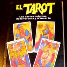 Libros de segunda mano: EL TAROT - LAS CARTAS MÁGICAS DE LA FORTUNA Y DE LA MUERTE - JOSS IRICH - 1.987. Lote 40530371
