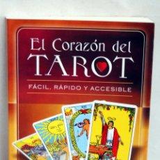 Libros de segunda mano: EL CORAZON DEL TAROT FACIL RAPIDO Y ACCESIBLE SANDRA A THOMSON ROBERT E MUELLER Q SINGER E ECHOLS. Lote 44123618