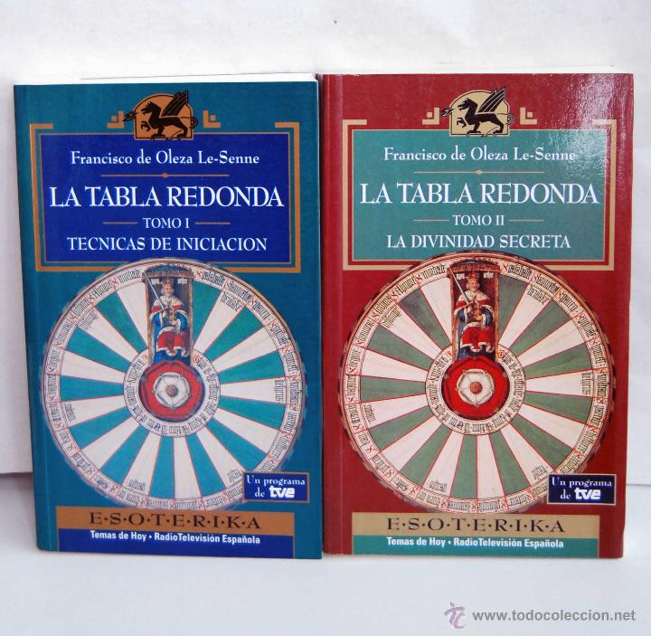 LA TABLA REDONDA TOMOS I Y II DE ESOTERIKA TEMAS DE HOY RADIO TELEVISION ESPAÑOLA TVE AÑO 1994 (Libros de Segunda Mano - Parapsicología y Esoterismo - Tarot)