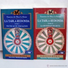 Libros de segunda mano: LA TABLA REDONDA TOMOS I Y II DE ESOTERIKA TEMAS DE HOY RADIO TELEVISION ESPAÑOLA TVE AÑO 1994. Lote 44123933