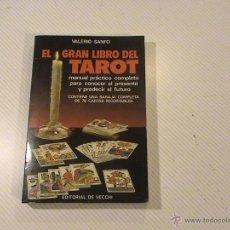 Livros em segunda mão: EL GRAN LIBRO DEL TAROT. (AUTOR: VALERIO SANFO) . Lote 48201069