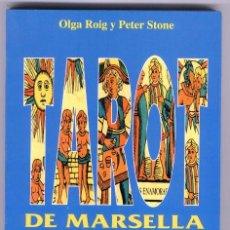 Libros de segunda mano: TAROT DE MARSELLA SUPER FACIL // OLGA ROIG Y PETER STONE (1ª EDIC. 1997). Lote 50213133