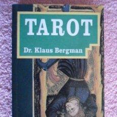 Libros de segunda mano: TAROT ME EDITORES 1996 KLAUS BERGMAN BIBLIOTECA DM. Lote 50256086