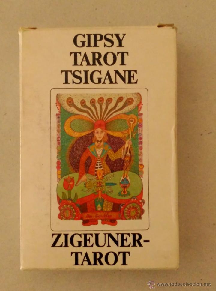 GIPSY TAROT TSIGANE (Libros de Segunda Mano - Parapsicología y Esoterismo - Tarot)