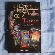 Libros de segunda mano: LIBRO EL SEÑOR DE LOS ANILLOS - TAROT - TERRY DONALDSON. Lote 51109481