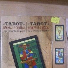 Libros de segunda mano: EL TAROT DE RENNES-LE-CHÂTEAU (LIBRO Y CARTAS). EDICIÓN BILINGÜE ESPAÑOL - FRANCÉS (BARCELONA, 2014). Lote 51137392