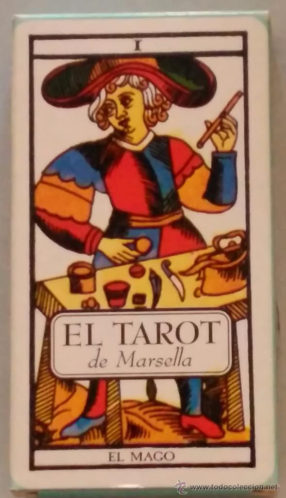 EL TAROT DE MARSELLA (Libros de Segunda Mano - Parapsicología y Esoterismo - Tarot)