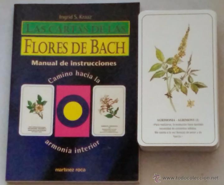 LAS FLORES DE BACH (Libros de Segunda Mano - Parapsicología y Esoterismo - Tarot)