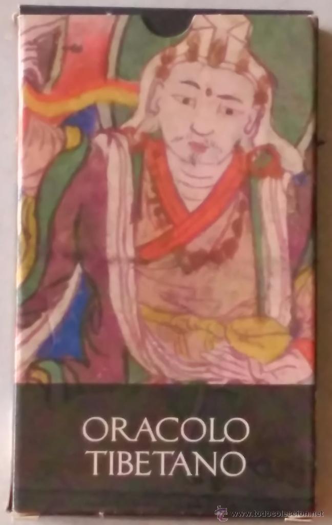 EL ORÁCULO DEL TIBETANO (Libros de Segunda Mano - Parapsicología y Esoterismo - Tarot)