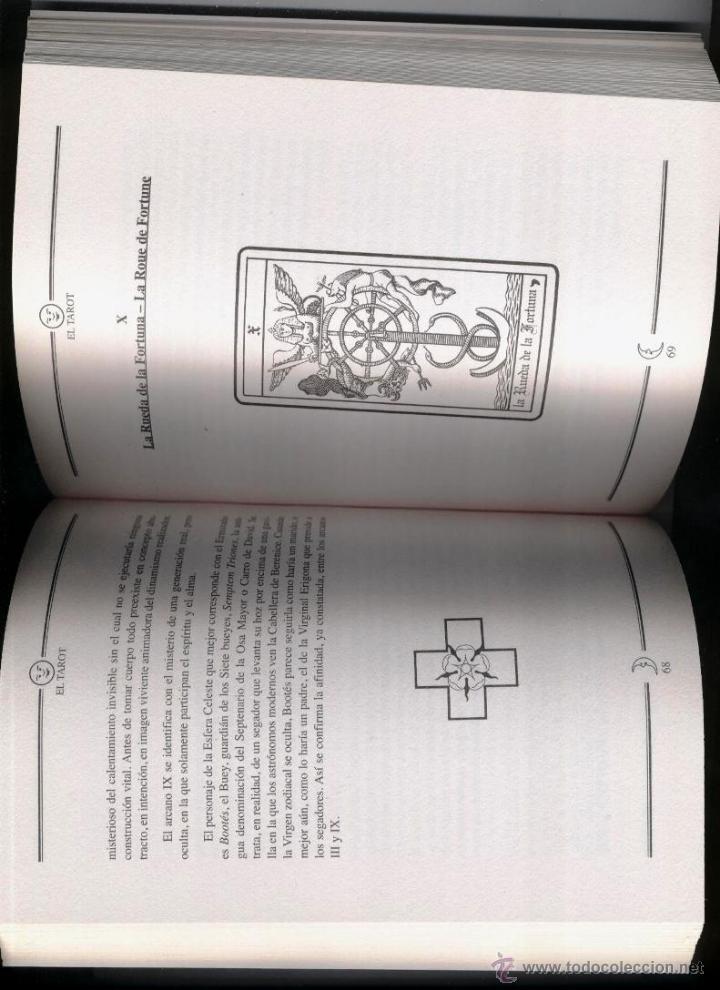 Libros de segunda mano: EL TAROT - LOS ARCANOS MAYORES // MERCEDES COMPTE (EDIC. MMXI) - 2011 - Foto 3 - 52655669