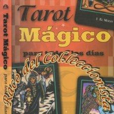 Livres d'occasion: TAROT MAGICO PARA TODOS LOS DIAS, DOROTHY MORRISON, ED. LLEVELLYN ESPAÑOL, 2004. Lote 53207186