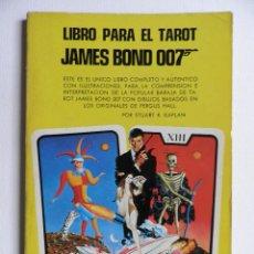 Libros de segunda mano: LIBRO PARA EL TAROT JAMES BOND OO7. Lote 54341917