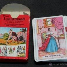Libri di seconda mano: THE SMALL LENORMAND DIVINATORY CARD GAME 37 CARTES . Lote 54491601