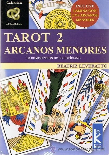 TAROT 2 ARCANOS MENORES BEATRIZ LEVERATTO (Libros de Segunda Mano - Parapsicología y Esoterismo - Tarot)