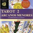 Libros de segunda mano: TAROT 2 ARCANOS MENORES BEATRIZ LEVERATTO . Lote 54858067