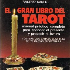 Livros em segunda mão: EL GRAN LIBRO DEL TAROT VALERIO SANFO . Lote 55025889