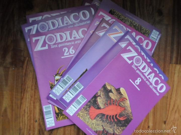 LOTE DE 34 FASCICULOS DE ZODIACO, TAROT, QUIROMANCIA, ARTES ADIVINATORIAS- PLANETA AGOSTINI (Libros de Segunda Mano - Parapsicología y Esoterismo - Tarot)