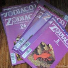 Libros de segunda mano: LOTE DE 34 FASCICULOS DE ZODIACO, TAROT, QUIROMANCIA, ARTES ADIVINATORIAS- PLANETA AGOSTINI. Lote 56009140