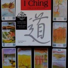 Libros de segunda mano: I CHING, LIBRO DE LAS MUTACIONES + 72 CARATAS- DONATELLA BERGAMINO Y DIEGO MELDI - LIBSA 2003. Lote 56032865