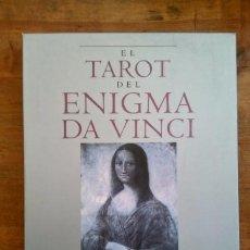 Libros de segunda mano: MATTHEWS, CAITLÍN. EL TAROT DEL ENIGMA DA VINCI. [ESTUCHE: LIBRO + 78 CARTAS]. Lote 166770366