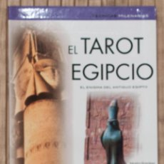 Libros de segunda mano: EL TAROT EGIPCIO. EL ENIGMA DEL ANTIGUO EGIPTO. MARTA RAMIREZ.2005.. Lote 58484378