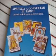 Livros em segunda mão: APRENDA A CONSULTAR EL TAROT. HAJO BANZHAF. MÉTODO PRÁCTICO CON LA BARAJA DE RIDER. EDAF. 2006. Lote 58560044