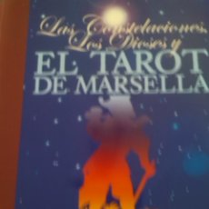 Libros de segunda mano: LAS CONSTELACIONES LOS DIOSES EL TAROT DE MARSELLA. Lote 61109215