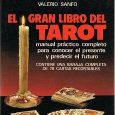 Libros de segunda mano: EL GRAN LIBRO DEL TAROT VALERIO SANFO. Lote 62986120